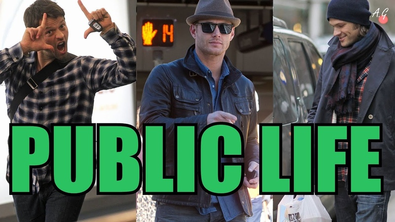 Public life, Meeting fans Being recognized/ Jared, Jensen Misha