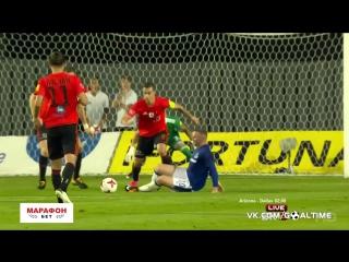 Рyжoмбepoк - Эвepтoн 0:1. Обзор матча. Лига Европы. 3-й квалификационный раунд. 2-й матч.