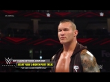 Randy Orton brutally stomps on a defenseless Jeff Hardy WWE Extreme Rules 2018