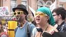 Ukraine Police detain far right protesters disrupting gay pride in Kiev