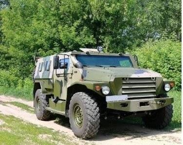 ВПК-3927 бронеавтомобиль «Волк»