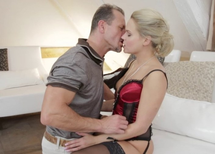 Blonde Barra Has a Valentines Day Fuck with Her Horny Friend