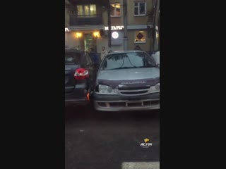 Массовое ДТП в центре Кемерова