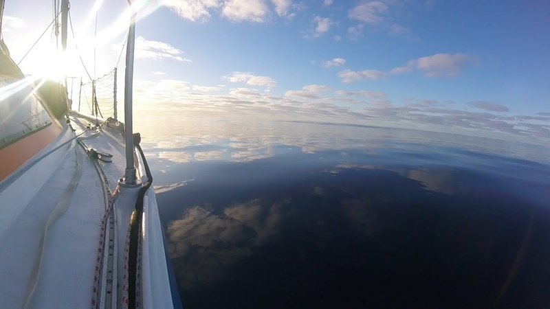 Stuck in the middle of the Atlantic with no wind or engine Ep33 The Sailing Frenchman