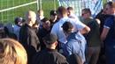 Конфлікт з невідомими озброєними людьми на секторі ультрас Динамо в Минаї Відео перше