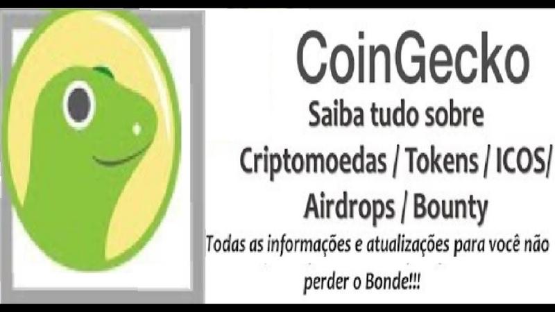 COINGECKO ► Ferramenta de criptomoedas melhor que a COINMARKETCAP