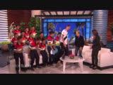 Zlatan surprises Thai Boys Soccer team rescued from cave on The Ellen DeGeneres Show
