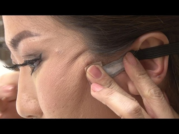 ほうれい線・しわたるみをリフトアップする若返りメイク!【Pook's makeup from BEAUTY VERSU