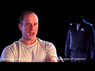 Christopher Meloni Talks Man of Steel And Henry Cavill