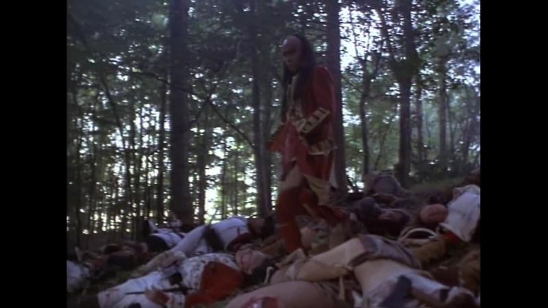 Разорванная цепь (1993). Бой ирокезов с американскими колонистами