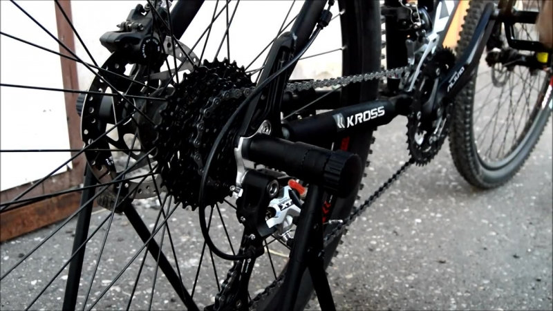 Чистка звезд и смазка цепи велосипеда