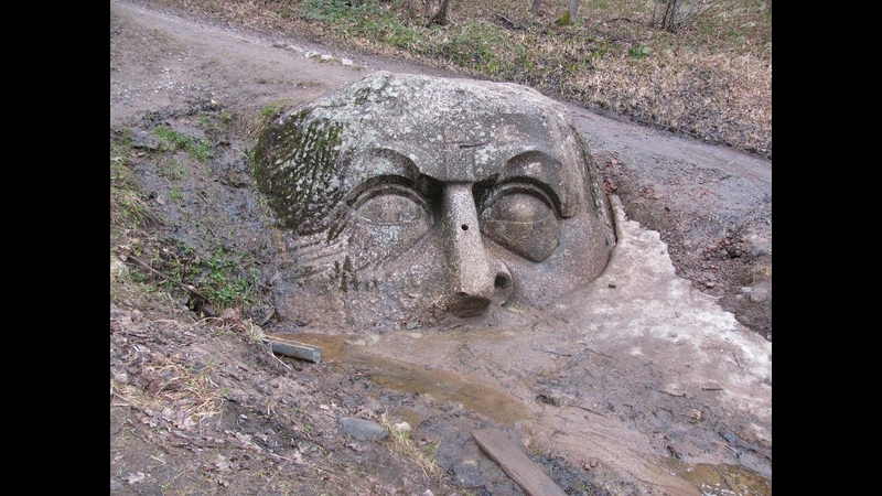 Мегалиты или новодел Голова Адама и другие загадки усадьбы Сергиевка в Петергофе