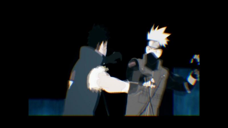 Kakashi VS Obito 「AMV」
