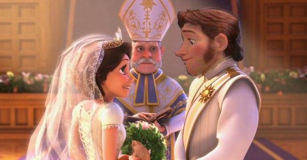 Рапунцель свадьба