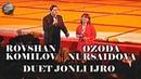 Rovshan Komilov va Ozoda Nursaidova duet jonli ijro Arxiv video