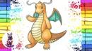 Как нарисовать Покемона Драгонайта How to Draw a Dragonite