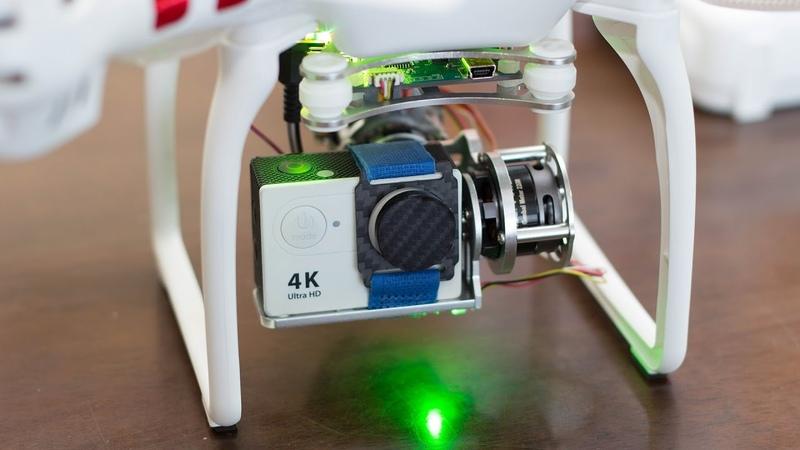 Syma X8C 2Axis Brushless Gimbal Tilt Control - Flight Test
