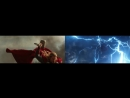 Сравнение сцены из Тора 2 Царство тьмы и Мстителей Война бесконечности
