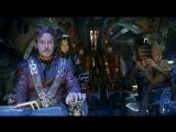 Мстители: Война бесконечности - Слитый отрывок «Стражи встречают Тора»