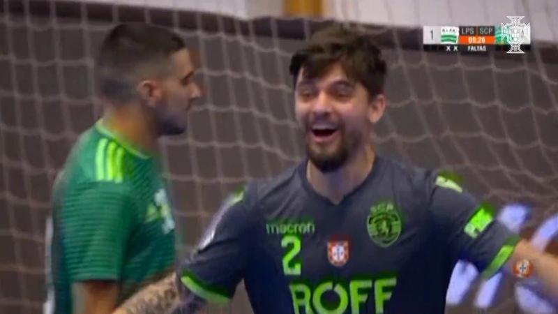 Liga Sport Zone, 8.ª jornada: Leões de Porto Salvo 1 - 4 Sporting CP