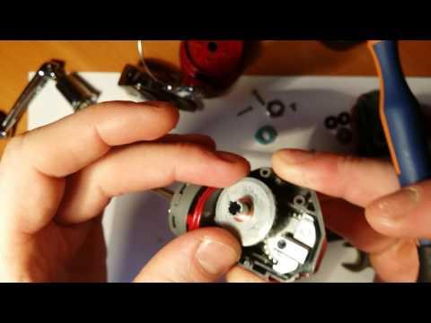 Апгрейд безинерционной катушки shimano catana, замена пластиковой втулки на подшипник