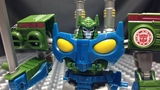 Robots in Disguise Combiner Force Warrior BLASTWAVE EmGo's Transformers Reviews N' Stuff