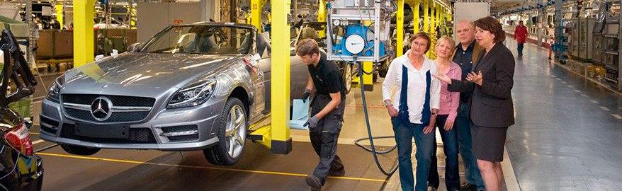 Завод Mercedes в России: поставлена первая подпись «за»