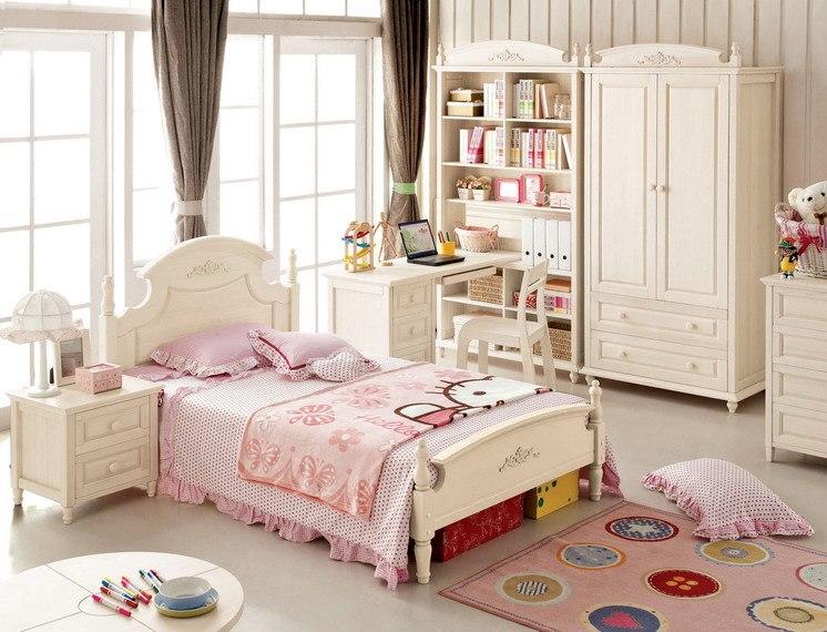Детская комната для девочки в стиле прованс, фото