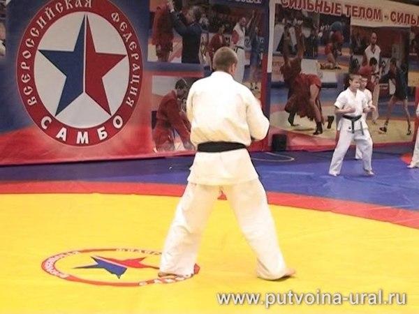 Спарринговая техника Карате Киокушинкай: мастер-класс Максима ДЕДИКА – 1.