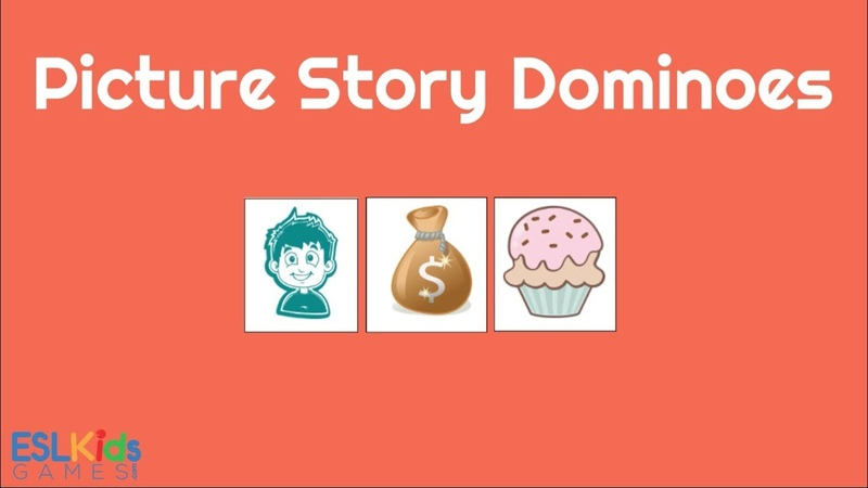 ESL Game: Picture Story Dominoes
