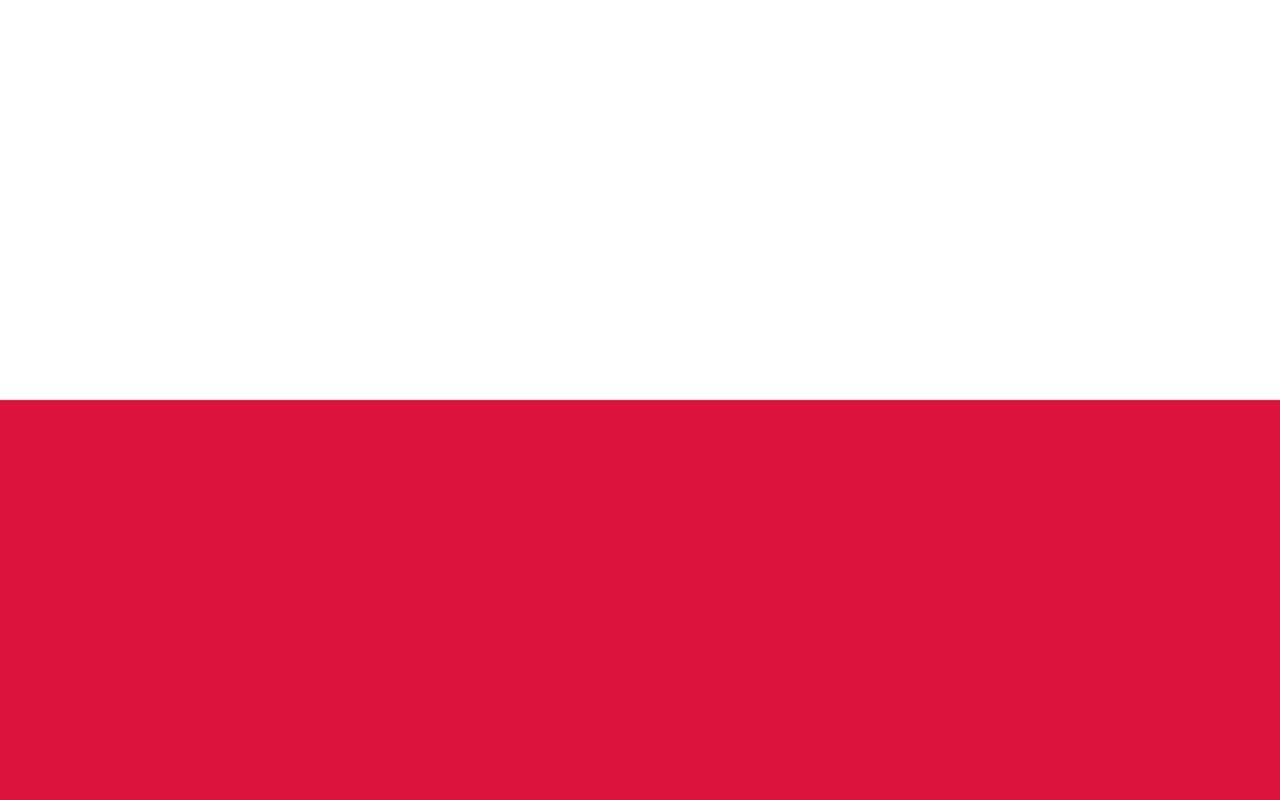 Флаг Польша
