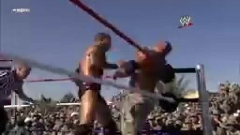 John Cena, Batista Rey Mysterio vs. Randy Orton Jeri-Show- Tribute to the Tr_144p.mp4