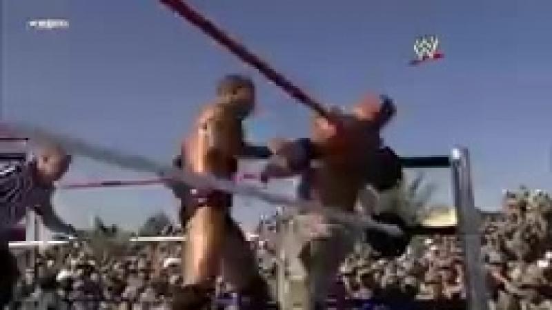 John Cena, Batista Rey Mysterio vs. Randy Orton Jeri-Show- Tribute to the Tr_144p.mp4