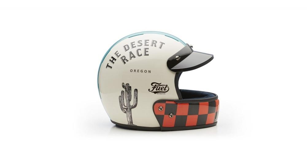 Мотошлем Veldt The Desert Race х Fuel Motorcycles