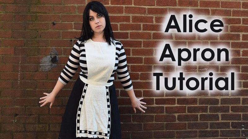 London Alice Cosplay Tutorial Part 2: Apron
