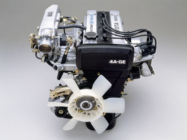 Club 4age And 4agze Engine In Car