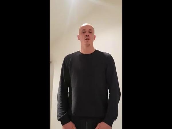 Le boxeur Christophe Dettinger s'adresse aux Gilets Jaunes. Il a été placé en garde-à-vue ce matin