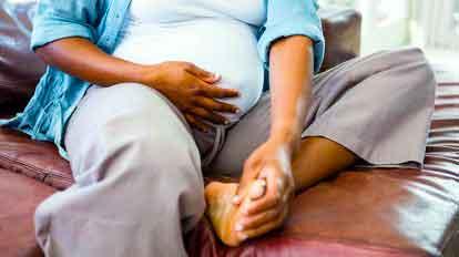 Статья Отеки лодыжек при беременности