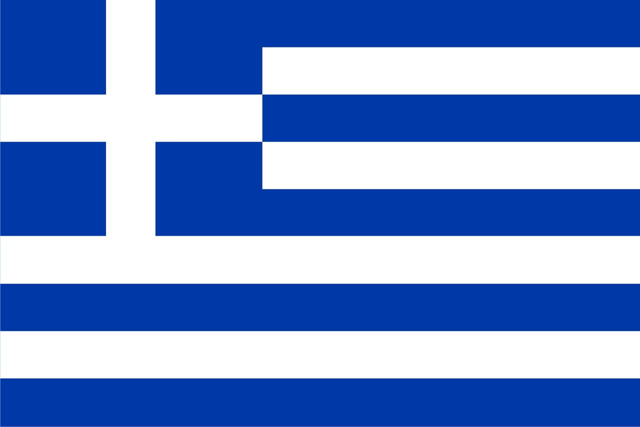 Флаг Греция