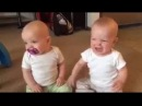 Two Cute Babies and Only One Pacifier,See the Fight!
