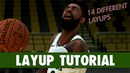 NBA 2K19 - LAYUP Tutorial Eurostep, 360, Jelly, Reverse, Euro-Floater, Spin, Between The Legs