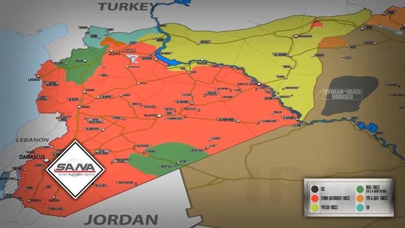 22 октября 2018 Военная обстановка в Сирии Сергей Шойгу объявил о результатах операции в Сирии