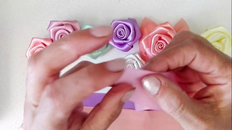 Tutorial come fare le rose per le bomboniere