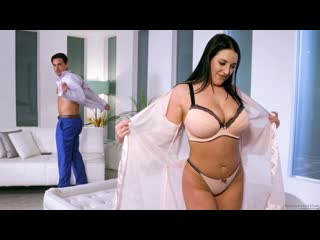 Angela white friends reacquainted (massage, oil, big ass, big tits, blowjob, black hair, natural tits)