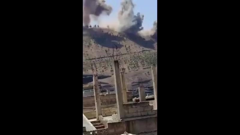 The bombard of TALalHARRA Tal al Hara continued when jihadist following the refusal to not 2withdraw 4m regions SAA TIGER