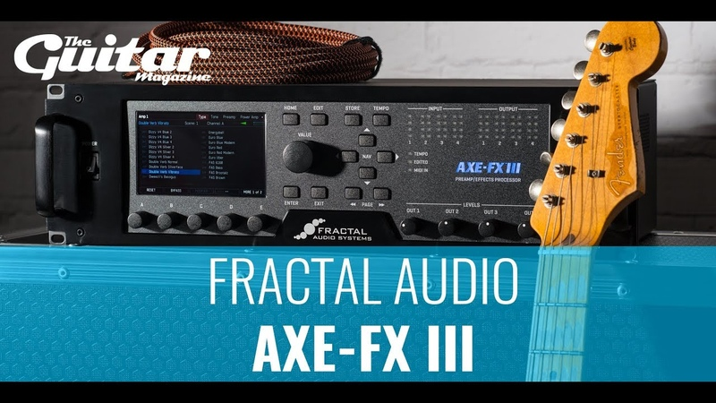 Fractal Audio Systems Axe-Fx III with Darran Charles | TGM Gear Demos