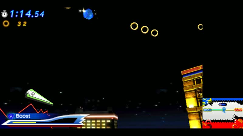 Sonic Generations (3DS) - Casino Night(Sonic The Hedgehog 2)