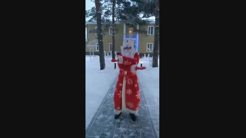 Резиденция Деда Мороза в усадьбе Жемчужная