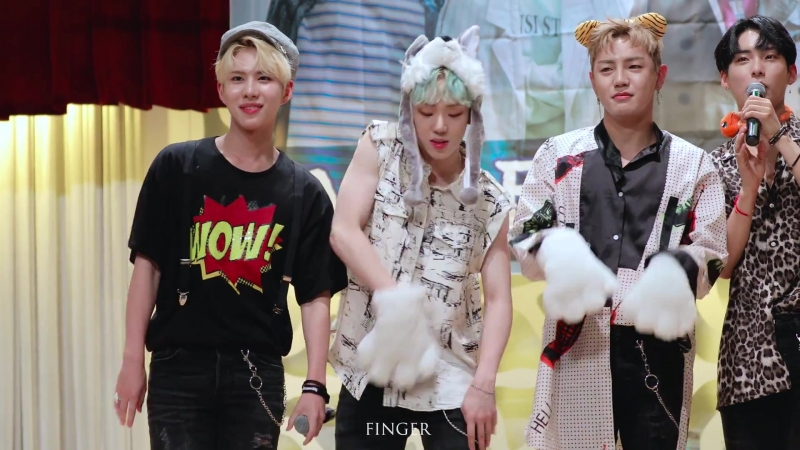 FANCAM   21.07.18   Byeongkwan (A.C.E - Phototime Take Me Higher)@ 12th fansign Simseok Hall