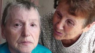 Тётя Галя приехала навестить мою маму. Болезнь Паркинсона. Ухаживаю за мамой